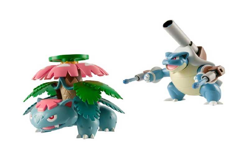 3 figurines pokemon